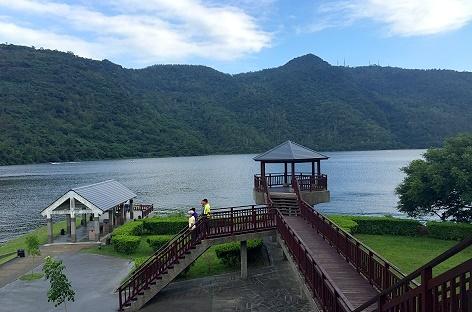 花蓮租車市集私房景點-鯉魚潭遊客中心